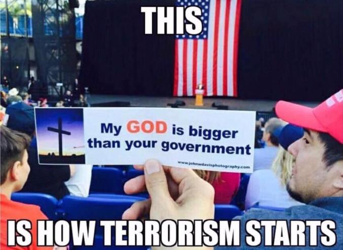 God Terrorism